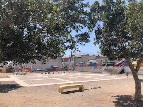 Almería espacio público los Almendros