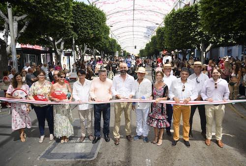 Inauguración paseo caballos Almería