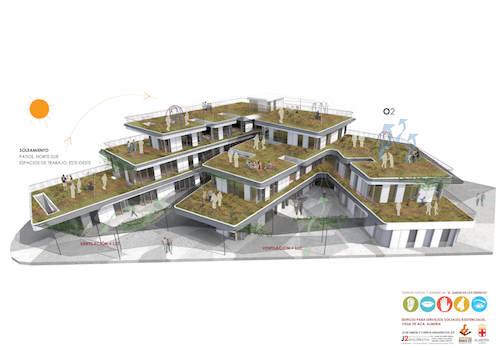 Edificio Servicios Sociales Almería
