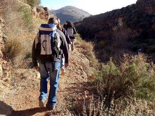 Deportes Almería senderismo
