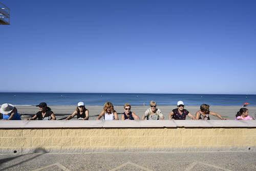 Deportes mayores playa Almería