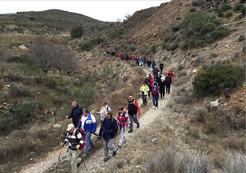 Ayuntamiento Almería deportes senderismo