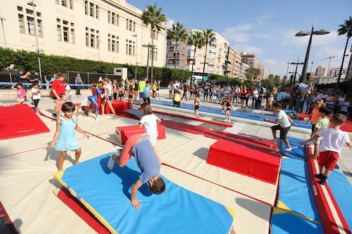Almería deporte en la calle