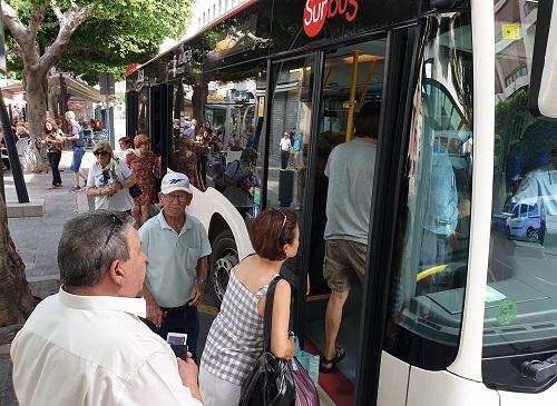 Almería movilidad bus gratuito