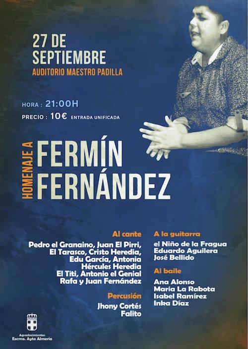 Cultura Almería Fermín Fernández