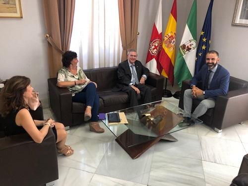 Alcalde y teniente fiscal Almería