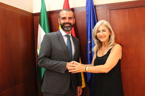 Alcalde Almería y Consejera Cultura