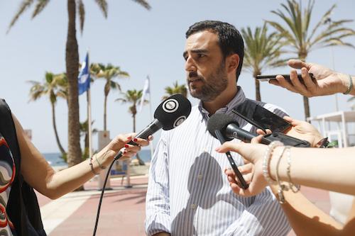 Carlos Sánchez concejal Almería