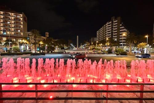 Concienciación Fuentes rojo Almería