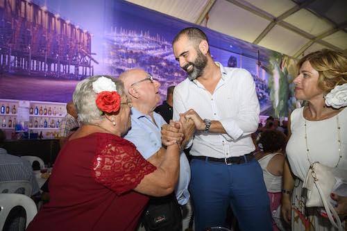 Almería homenaje mayores
