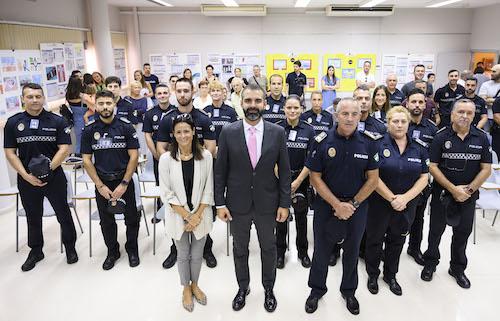 Escuela policías ESPAL Almería