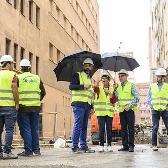 Alcalde mejoras calles ciudad