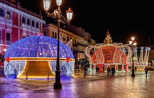Iluminación Navidad Almería 2019