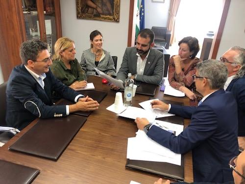 Alcalde Almería reunión Torrecárdenas