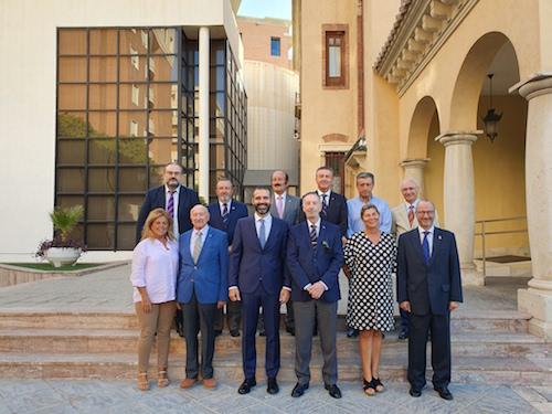 Alcalde Almería presidente legionarios honor