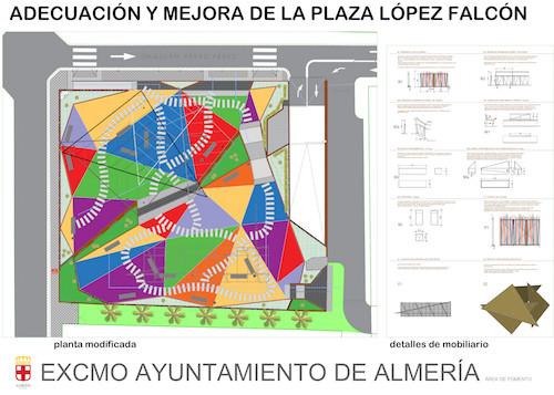 Plaza López Falcón Almería