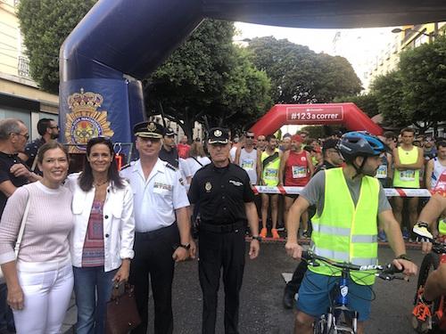 Carrera solidaria Policía Almería