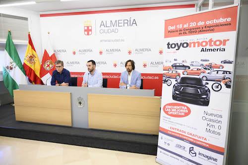 Almería promoción Toyomotor