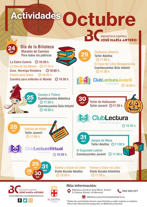 Apertura biblioteca Artero Almería
