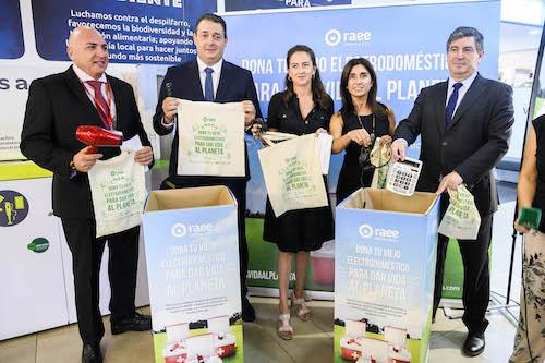 Almería campaña reciclaje electrodomésticos