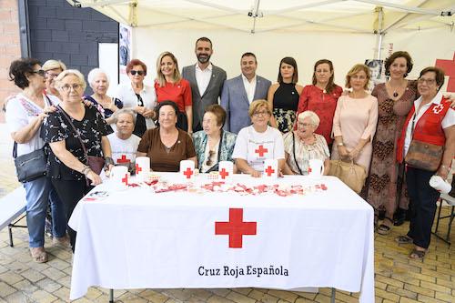Banderita Cruz Roja Almería