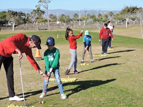 Escuelas golf Almería