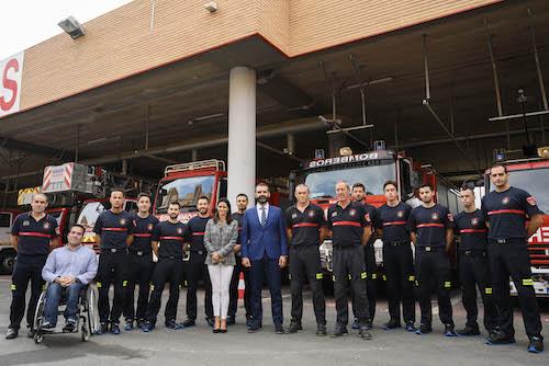 Escuela nuevos bomberos Almería