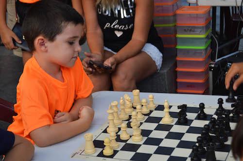 Deportes Almería ajedrez niños