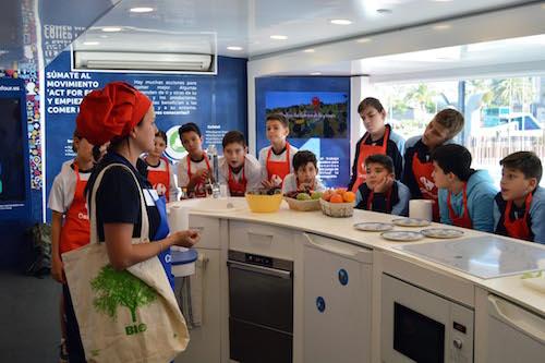 Almería caravana alimentación saludable