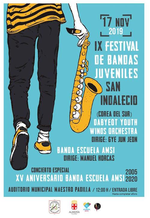 Almería música bandas juveniles