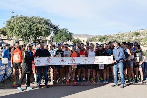 Almería deportes trail solidario