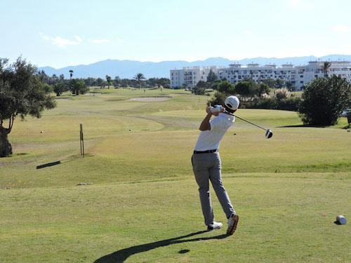 Almería deportes Alborán golf