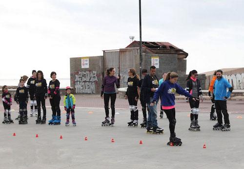 Almería Juegos Deportivos Municipales patinaje