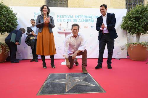 Jorge Sanz cine Almería