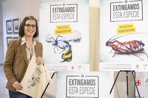 Almería campaña reciclaje playas