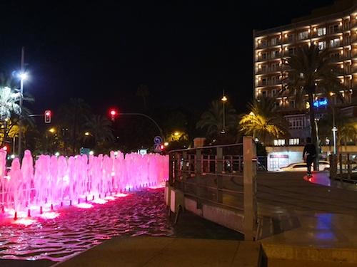 Almería iluminación 25N