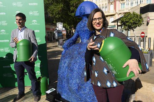Almería reciclaje ecovidrio Meninas