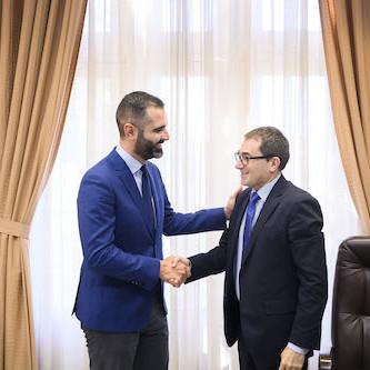 Embajador Eslovaquia Ayuntamiento Almería