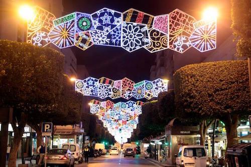 Iluminación Navidad Almería