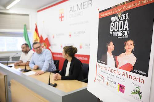 Almería teatro contra cáncer