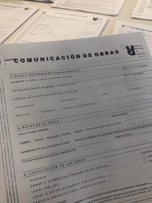 Ayuntamiento Almería licencia obras