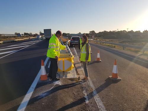 Almería obras autovía aeropuerto