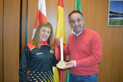 Almería deportes Raquel BAllesta