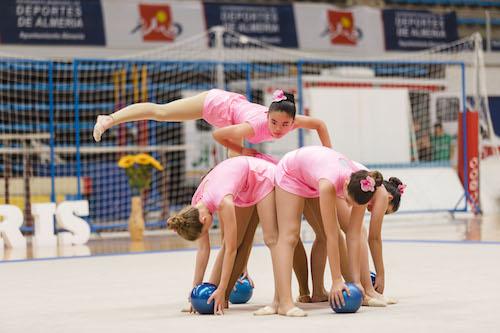 Deportes Almería exhibición gimnasia