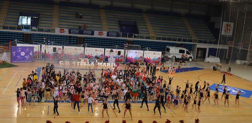 Almería exhibición gimnasia