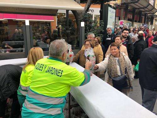 Almería reparto pascueros