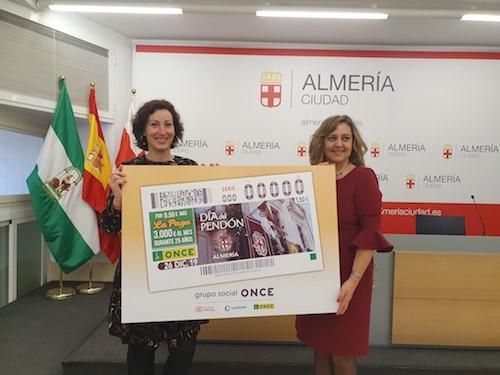 Almería cupón ONCE Pendón