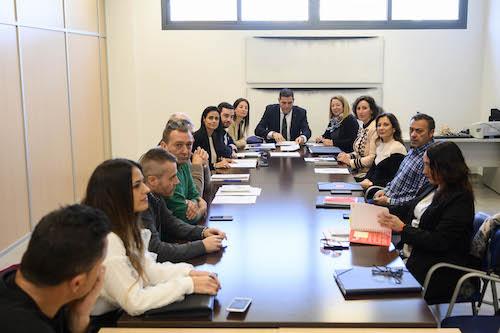 Mesa negociación Ayuntamiento Almería