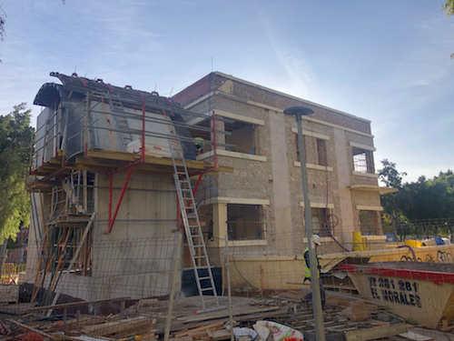 Rehabilitación Almería protección civil