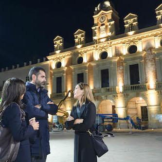 Iluminación Plaza Vieja Almería